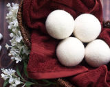 Sfera bianca Handmade dell'essiccatore delle lane dell'emolliente del tessuto della sfera della lavanderia