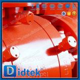 Didtekは堅いシールの球弁Preesureの高いトラニオンのフランジを付けたようになった