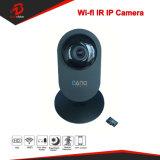 IP van het Huis van WiFi van het Netwerk van het Toezicht van de Veiligheid van kabeltelevisie 2MP Zwarte Draadloze Camera