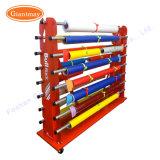Qualitäts-Metallbildschirmanzeige-Speicher-trockene Tuch-Textilgewebe-Rollenregal-Zahnstange