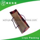 Sacs en papier de sacs à provisions de grande capacité de fleur d'impression