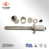 Personalizar o tubo de aquecimento eléctrico sanitários em aço inoxidável
