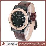 Vente à chaud en acier inoxydable bracelet étanche montre à quartz pour les hommes