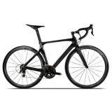 bici di corsa di strada 700c con il blocco per grafici del vento della rottura del carbonio T900
