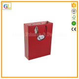 Изготовленный на заказ роскошный бумажный мешок подарка покупкы (OEM-GL-002)