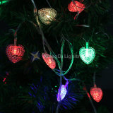 Heart Shape LED String Light with This RoHS for Party and Wedding Decoration