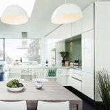 Alta cabina de cocina modular brillante ULTRAVIOLETA moderna con la maneta de la cabina de cocina