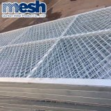 Expaned Metallstahldiamant-Platten-Ineinander greifen-Dekoration-Stahlplatten-Ineinander greifen
