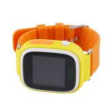 Q90 GPSの小型追跡者の赤ん坊は子供の金庫のモニタのためのWiFiのタッチ画面Sos呼出し位置Devicetrackerの腕時計を反失った