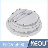 3W 6W 12W 18W 24W Slim Downlight LED pour panneau