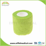 Sans latex latex non tissées ou Bandages de compression autoadhésif cohésive