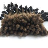 O cabelo humano chinês Ombre delicado do Crochet de 20 polegadas teme