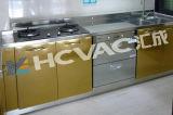 Máquina de capa decorativa de los utensilios de cocina y del vajilla PVD