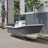 Petits bateaux de fibre de verre de Liya 5.8m pour le yacht de bateaux de pêche