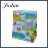 Оптовые продажи подгоняют дешевым напечатанный логосом мешок высокого качества бумажный