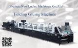 Feuille de haute vitesse automatique de l'encollage de chant machine pliage de papier de flexion (GK-1100GS)