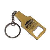 Metallo Keychain del ricordo personalizzato commercio all'ingrosso con la scheda della protezione