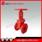 Válvula de porta de aumentação Ductile da haste da luta contra o incêndio do ferro