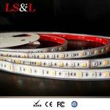 Alta calidad DC12/24V del Striplight de RGB+Amber 5050 LED con Ce y RoHS