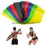 Las vendas del bucle de la resistencia del ejercicio fijaron de fuerza de la terapia física 5