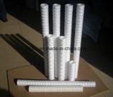 El algodón hilado de polipropileno PP Herida de cadena de cartuchos de filtro de agua