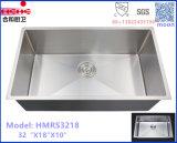 Aço inoxidável Undermout R10 pequeno raio pia de cozinha artesanal ou que desejem Basin