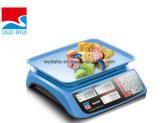 Heiße verkaufenautomatische bunte Plastikschuppe Dh-607 des quadrat-40kg LCD