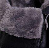 Ботинки зимы людей неподдельной кожи ботинка лодыжки Китая