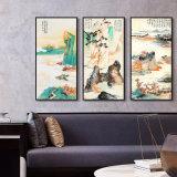 ホーム、オフィス、ホテルの装飾のための3つのパネルの景色オイルのキャンバスの絵画壁の芸術映像