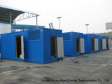 コンテナに詰められたBiogas Generator/CHP