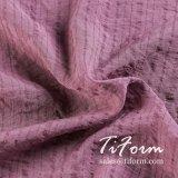 40d полиэстер жаккард имитация шелковые ткани для летнего платья