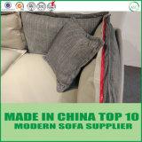 Cuoio multiuso moderno e sofà sezionale del tessuto