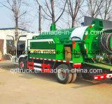 다기능 하수 오물 흡입 트럭 및 고압 청소 트럭