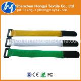 De perfil bajo de bridas de nylon resistente con hebilla de plástico