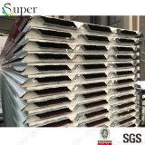 20mm 1つの側面の鋼板1家禽のための側面PVCシートPUサンドイッチ屋根のパネル
