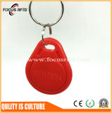Couleur faite sur commande de coutume d'étiquette de Keyfob d'IDENTIFICATION RF du logo Em4100 LF