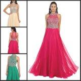 Crystal Partie Partie robe de soirée robes sans manches M71005