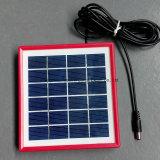 o vidro Tempered colorido de 6V 2W laminou o painel solar para a carga da bateria de Toys&