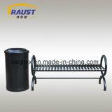 外の鋳鉄の物質的な屋外の椅子の鋼鉄庭のベンチの背部