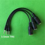 """1/8"""" 3,5 мм стерео аудиоразъем для MIDI DIN гнездовой кабель"""