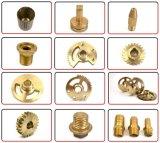 Peça de bronze componente do torno da peça de metal do CNC Maching