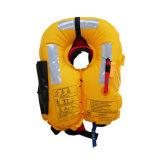 Design personnalisé de la vie marine gonflable pliable Veste Gilet de sauvetage