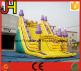 屋外ゲームのための商業膨脹可能な城のスライド