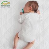 Cubierta de colchón impermeable ajustada ultra absorbente respirable hipoalérgica del pesebre del estilo de la hoja del niño