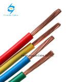 Cabo de fio isolado PVC do cobre H07V-R H07V-U H07V-K do certificado do Ce