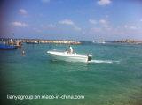 Pêche de fibre de verre de bateaux de Liya 5.0m avec des coques de bateau de Panga de moteur