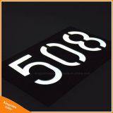 L'indirizzo solare di numero della Camera delle piastre del LED firma l'indicatore luminoso del Doorplate