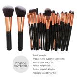 Maquillaje profesional Kit de cepillo 22pcs/Set maquillaje cosméticos herramienta
