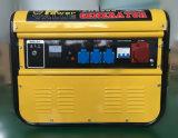 Prezzo a tre fasi elettrico del gruppo elettrogeno di potere della benzina di valore 5kw di potere