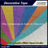 Format A4 couleur auto adhésif décoratif Glitter Glitter papier cartonné papier autocollant